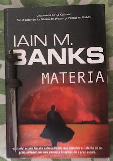 Portada del libro Materia, de Iain M. Banks