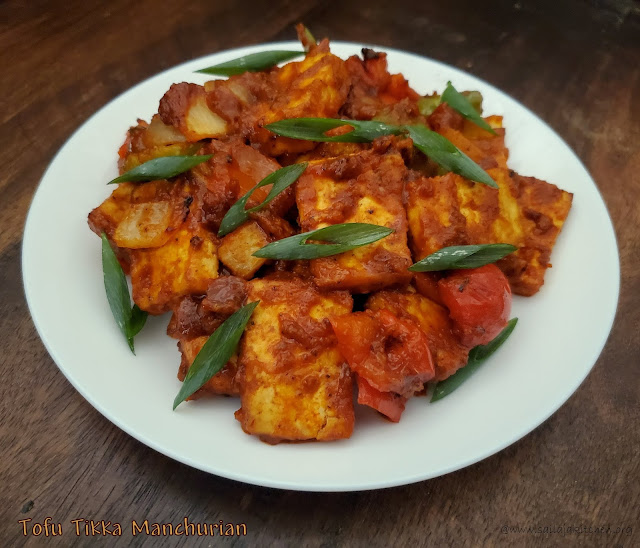 images of Tofu Tikka Manchurian / Tofu Manchurian - Tofu Recipes