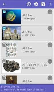 تحميل برنامج استرجاع الصور DiskDigger للاندرويد مجانا