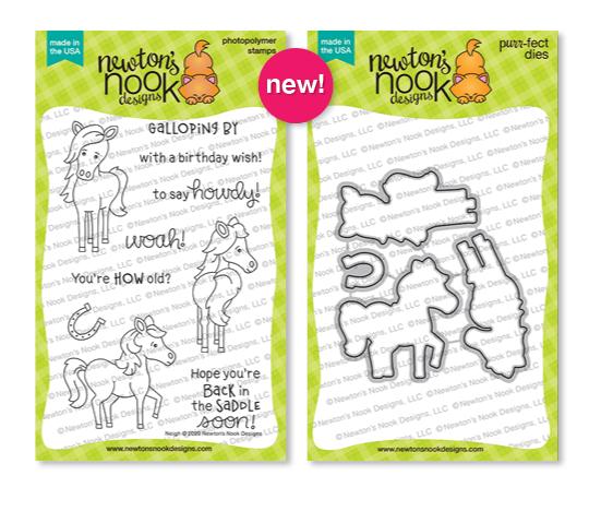 Neigh Stamp Set by Newton's Nook Designs #newtonsnook