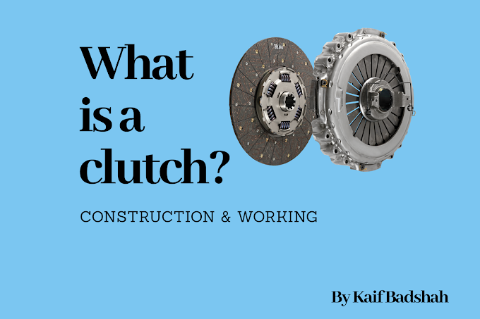 What is clutch | construction and working