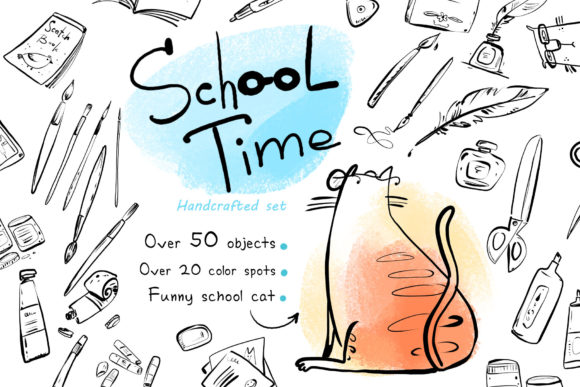 School Time 50 Handcrafted Objects