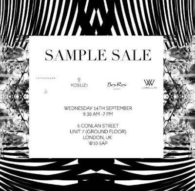 BEX ROX Sample Sale September 2016 Jewellery Blog