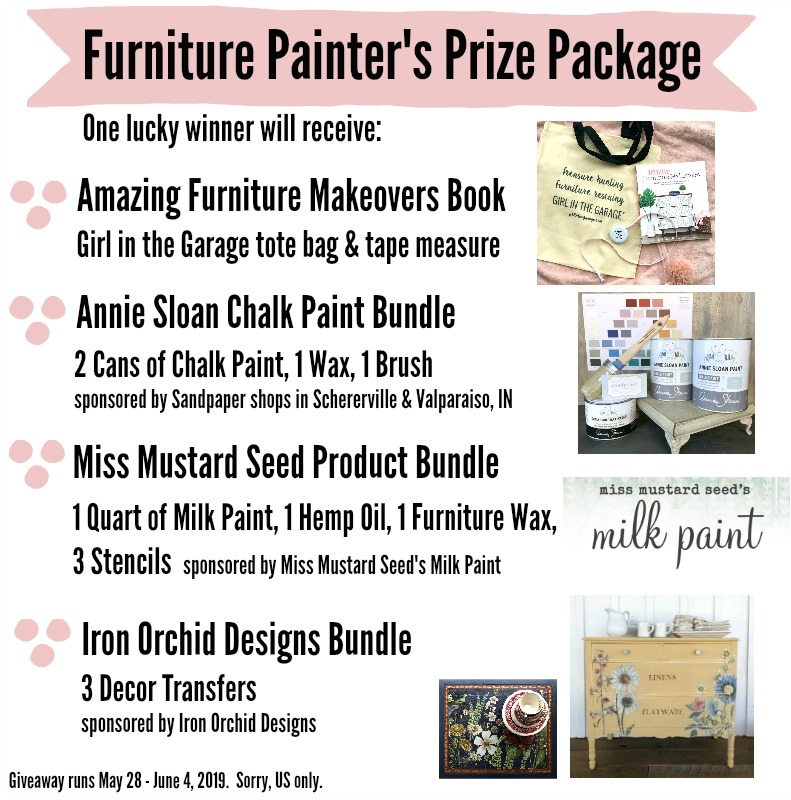 Furniture prize pack giveaway
