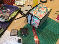 Crafting in Edinburgh, Scotland with Clare Charvill