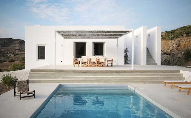 Paros Villa, una casa en la isla de Paros chicanddeco