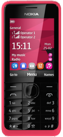 Nokia 301-Specifications