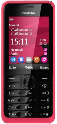 Nokia 301-Specifications