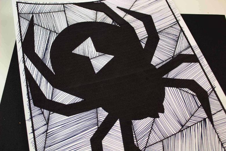 spider template