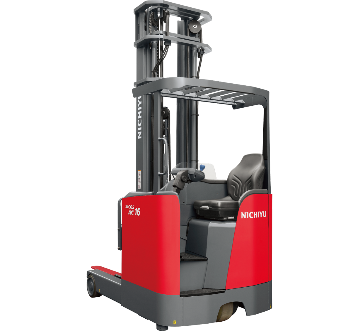 Nichiyu Reach Truck Sit-on