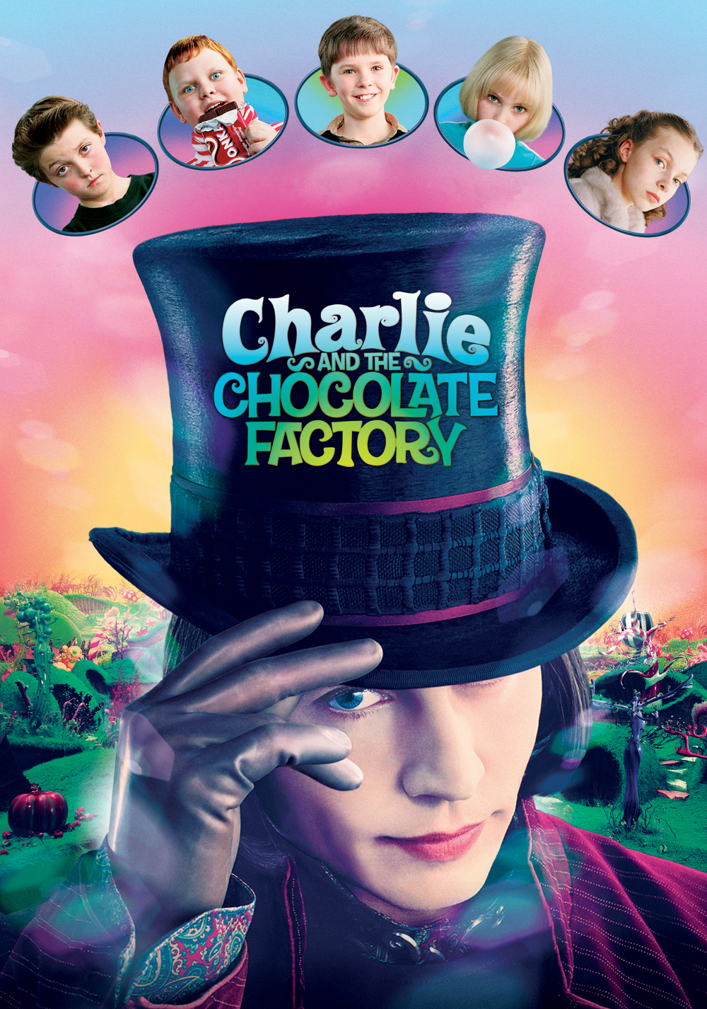 Charlie and the Chocolate Factory 2005 Dual Audio Hindi 720p BluRay 800MB Download