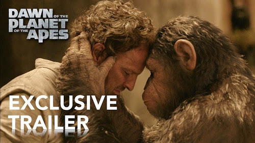 Screen Shot Of Movie Dawn Of The Planet Of The Apes (2014) Full Theatrical Trailer HD At worldfree4u.com