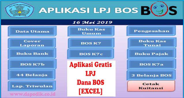 Aplikasi Gratis Laporan Pertanggung Jawaban Lpj Dana Bos Tahun 2021 Excel Dapodik Co Id