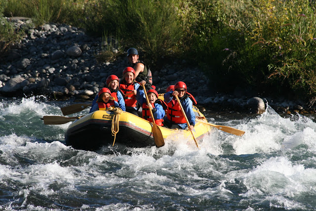 Overnight river rafting in Kolad, Maharashtra