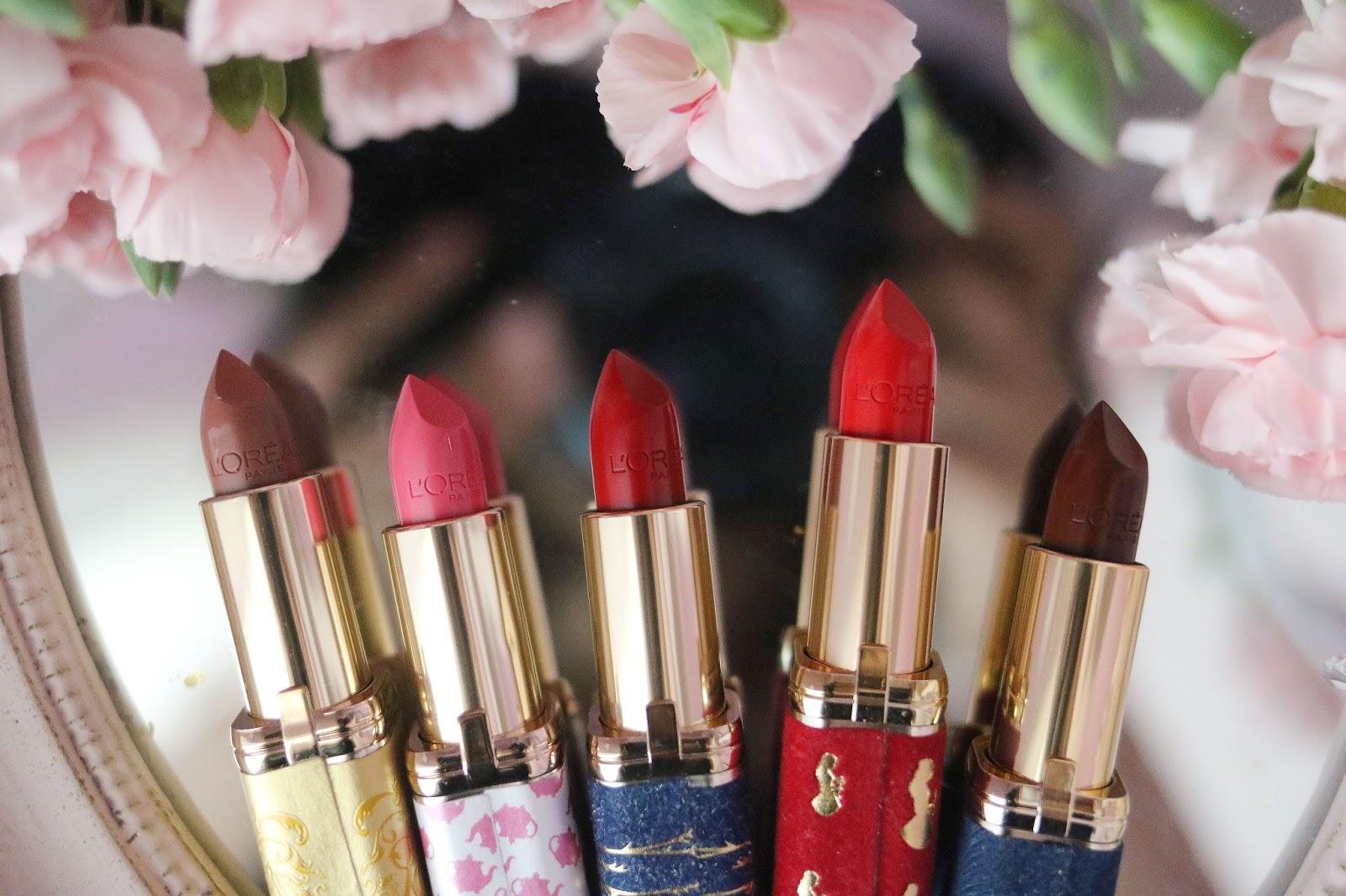 La Belle et la Bête , L'oréal , Collection Maquillage , Disney , Blog Beauté Paris , Rosemademoiselle , rose mademoiselle , revue , avis , swatch