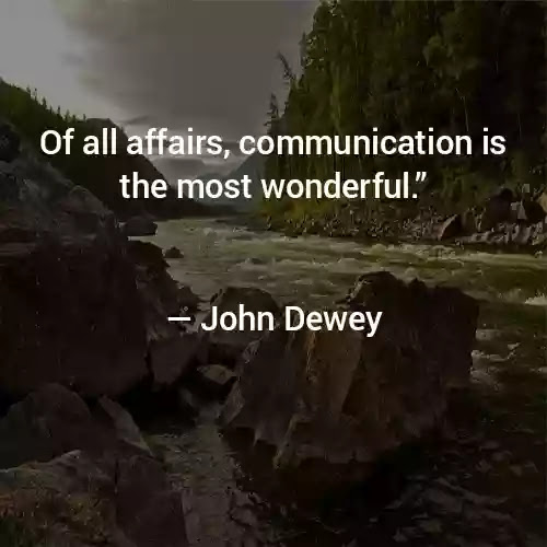 dewey quotes