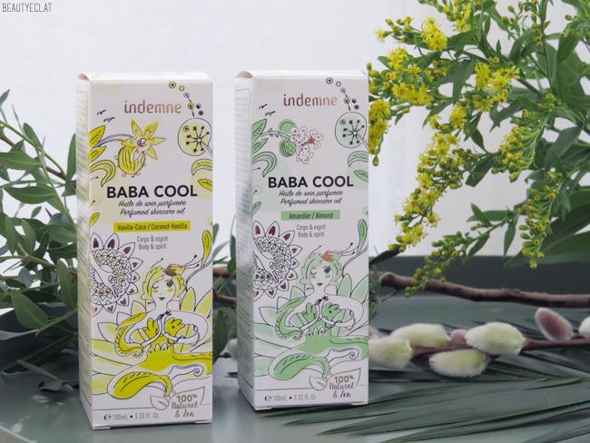 avis huile de soin parfumee indemne gamme baba cool