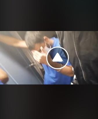 خبر عاجل شاهد  بالفيديو من سجن لامبادوزا  انتحار تونسي بسبب سماعه بخبر ترحيله الى تونس