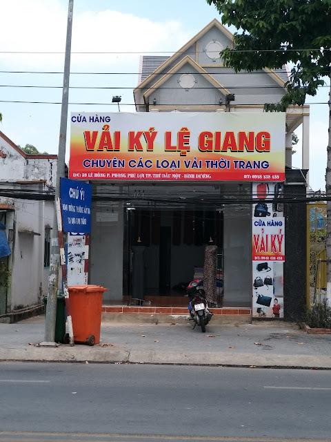 Địa điểm mua Vải Ký tại Hiệp Thành, Tp Thủ Dầu Một, tỉnh Bình Dương