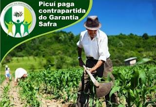 Município de Picuí efetuou pagamento da contrapartida do Garantia Safra