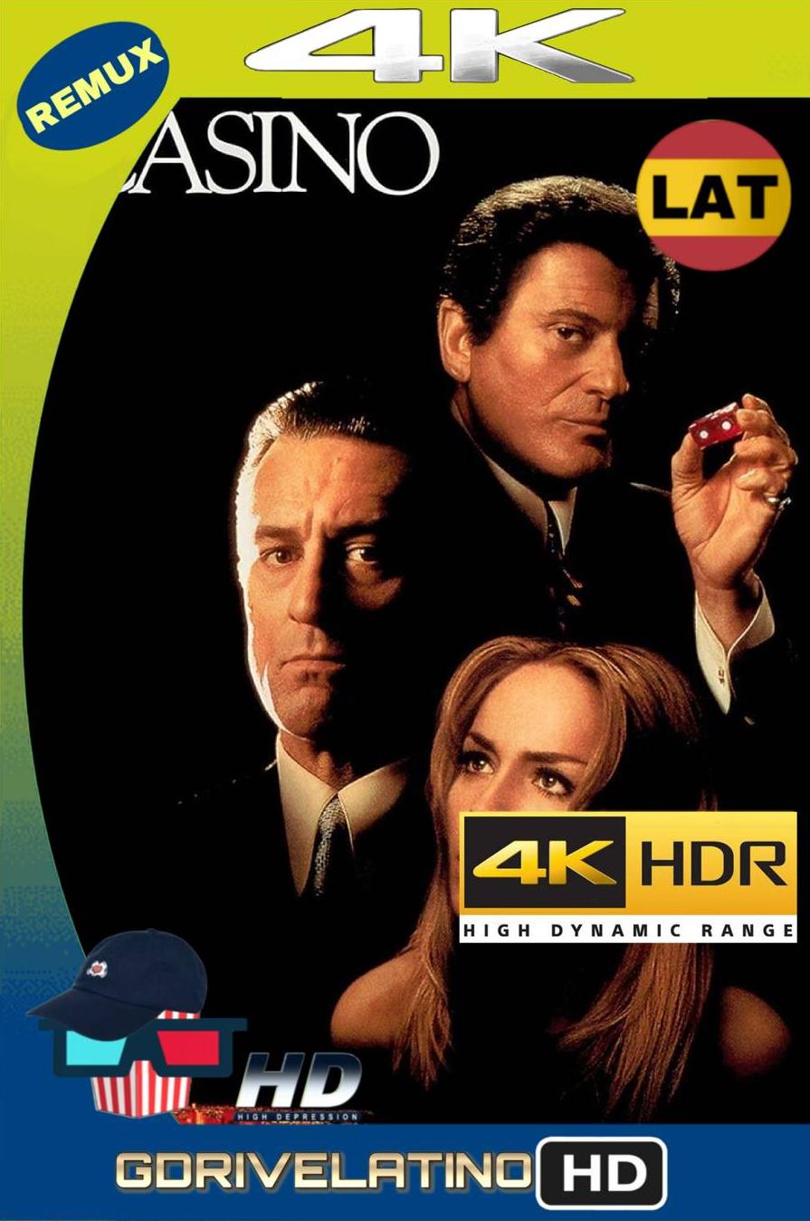 Casino (1995) BDRemux 4K HDR Latino-Ingles MKV