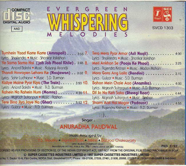 Download Evergreen Whispering Melodies [1997-MP3-VBR-320Kbps] Review