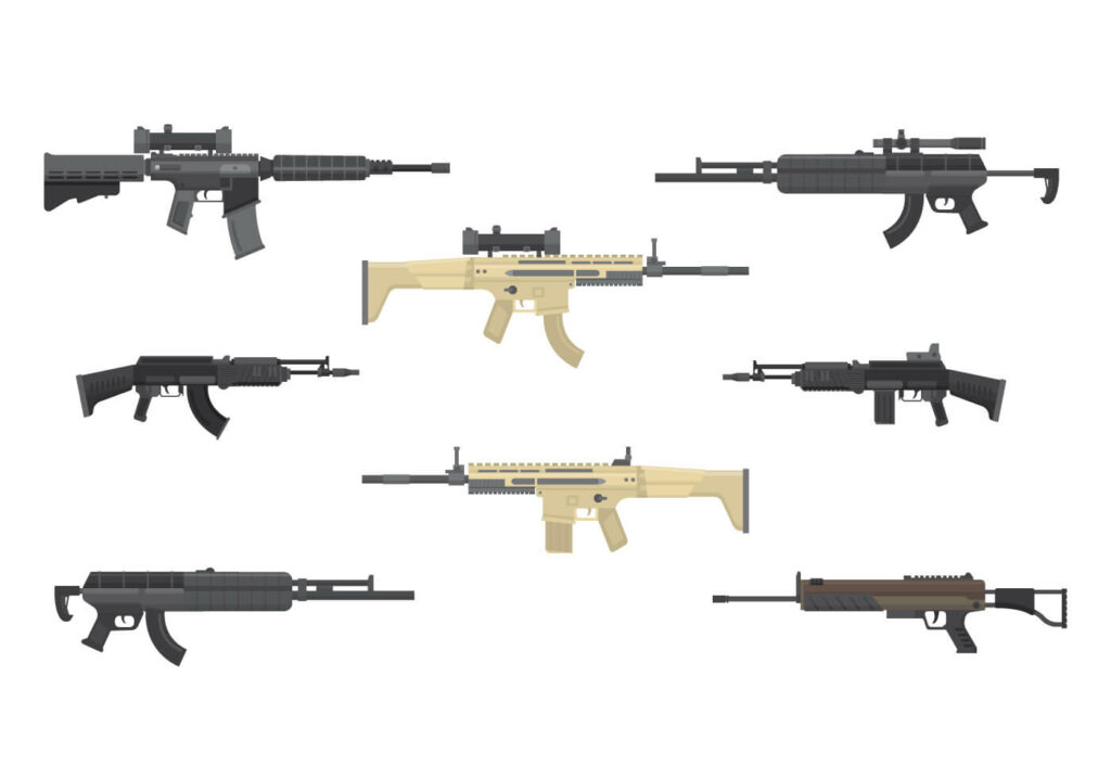 Gun Combination In Garena Free Fire