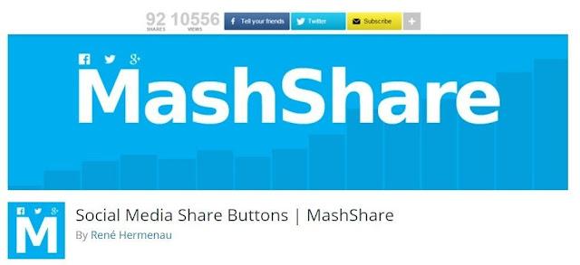 Mashshare wordpress plugins