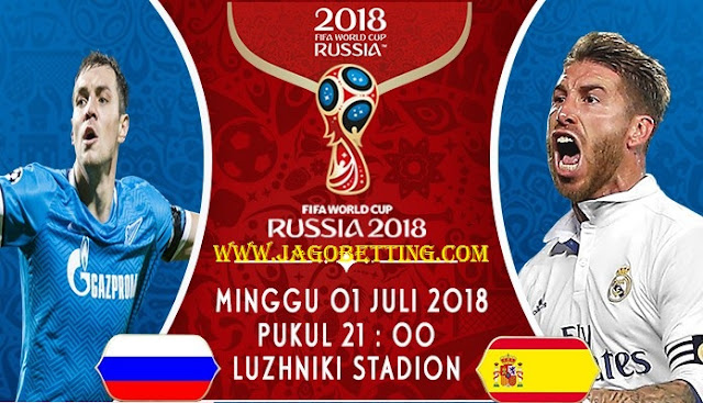 Live Russia Vs Spain World Cup 1 July, 2018
