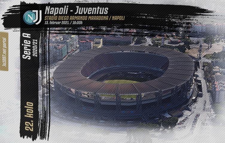 Serie A 2020/21 / 22. kolo / Napoli - Juventus, subota, 18h