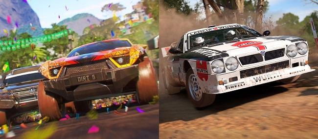 Dirt 5 vs Dirt 4 Gameplay