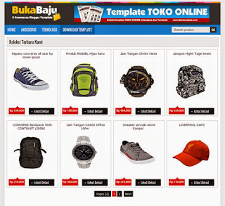 Template Blogger Toko Online Indonesia