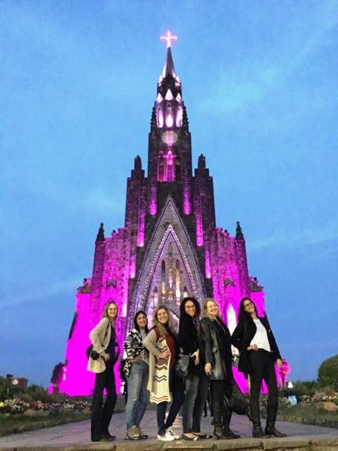 Catedral de Pedra em Canela, na Serra Gaúcha, pelo projeto Mulheres Mundo Afora