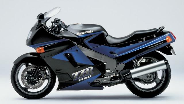 Kawasaki ZZ-R1100 1990s Japanese superbike
