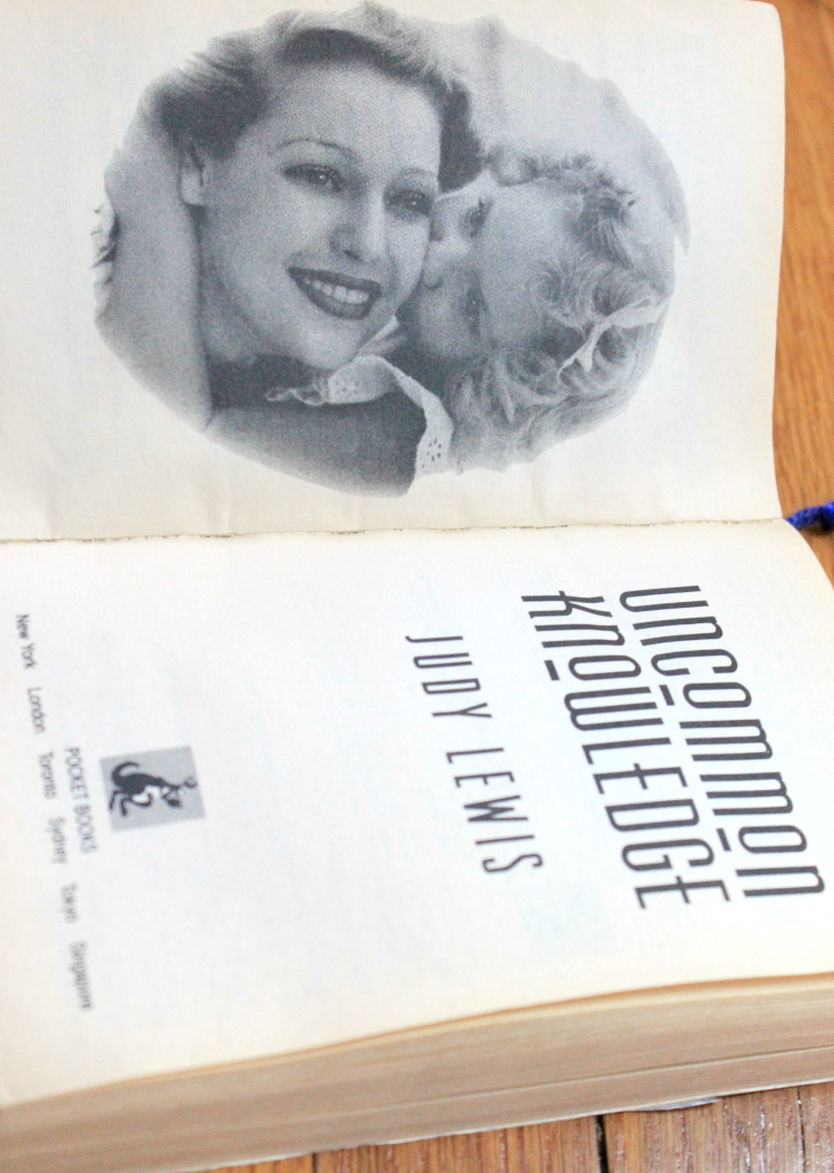 A Vintage Nerd Book Club Book Review Reading Recommendations Old Hollywood Biographies Judy Lewis Book