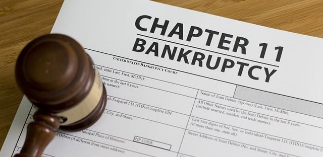 chapter 11 bankruptcy personal vs business debt reorganization