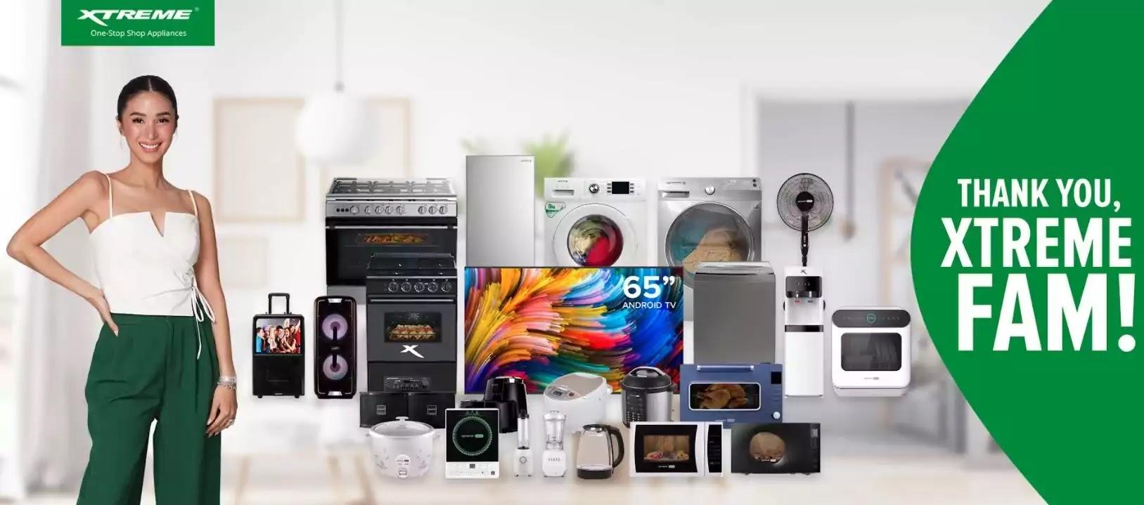 XTREME Appliances Thank You