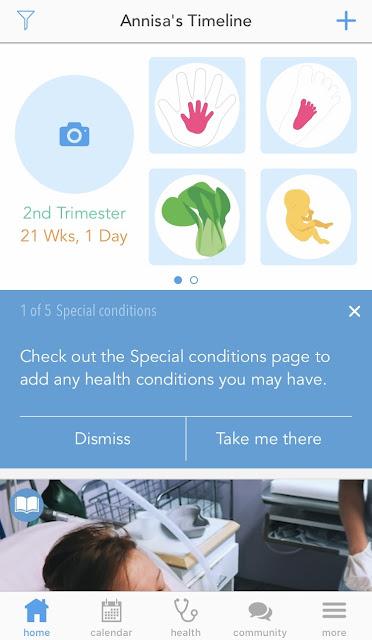 Aplikasi Kehamilan Ovia Pregnancy
