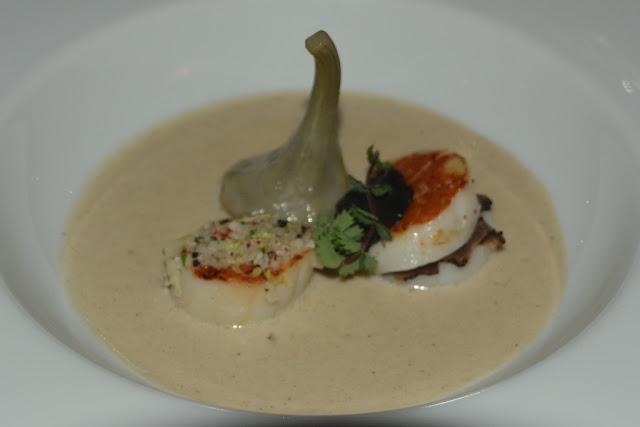 Restaurant l'epuisette scallops