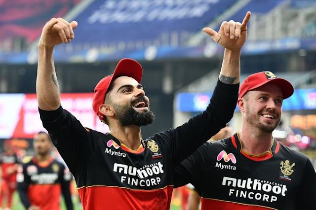 IPL 2020 SRH vs RCB 153 रन पर सनराइजर्स ऑलआउट, 10 रन से जीते रॉयल चैलेंजर्स।