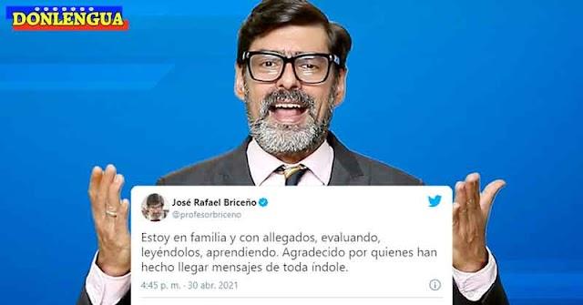 José Rafael Briceño se defiende de las acusaciones de Tarek William Saab