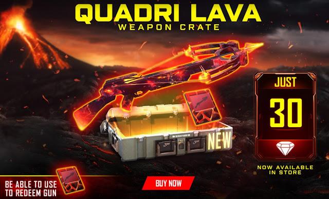 Bocoran Skin Crossbow Free Fire Quadra Lavi