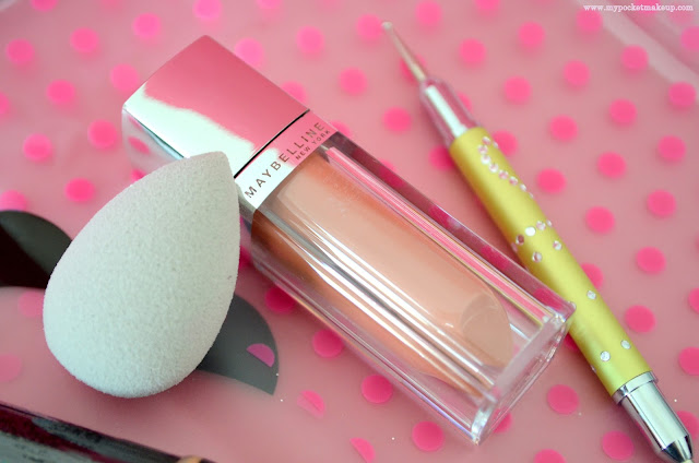 box beauté - box maquillage - maquillage - beautyblender - gemey maybelline - rouge à lèvres liquide - beautyblusher - dotting tool