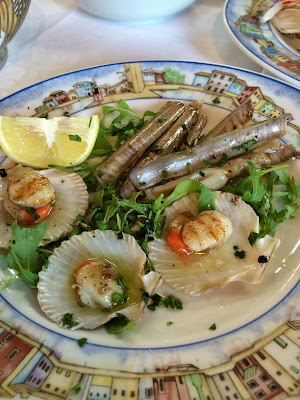 seafood Italian dishes
