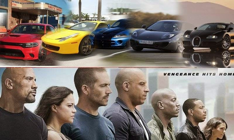 Galeri Kisah Fast And Furious 2001 -  2015 Furious 7