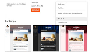 Cara Menghilangkan Gambar Obeng dan Tang di Blog