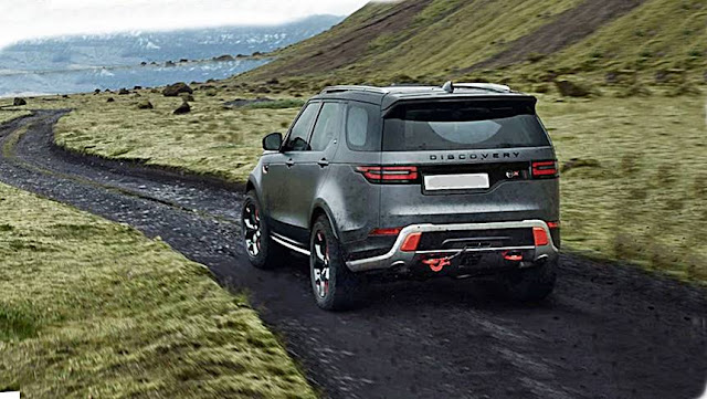 2019 Land Rover Discovery SVX revealed due in Australia