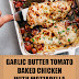 Garlic Butter Tomato Baked Chicken with Mozzarella