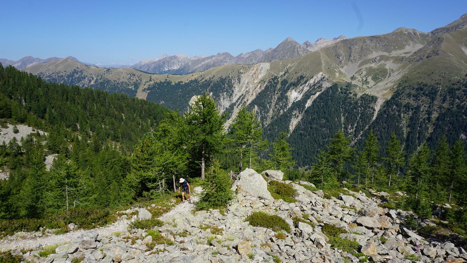 Trail near Baisse de Férisson