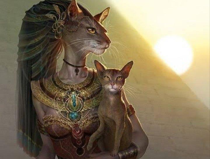 Bastet: A Deusa Com Cabeça de Gato do Antigo Egito